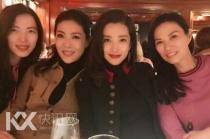 四美!富姐李冰冰邓文迪相聚:中国女人在纽约