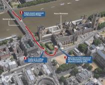 伦敦恐袭案已致5死40伤 独狼嫌犯驾车撞人砍警察