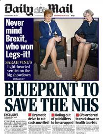英国首相与苏格兰首席部长会晤 英媒聚焦双腿被批